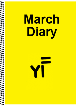 Yellow Flag Diary - March 2015